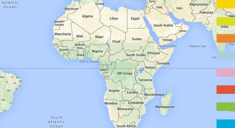 MDG Progress Report of Africa in 2015
