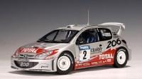 AUTOart: 2002 Peugeot 206 WRC - M.Gronholm / T.Rautiainen ...