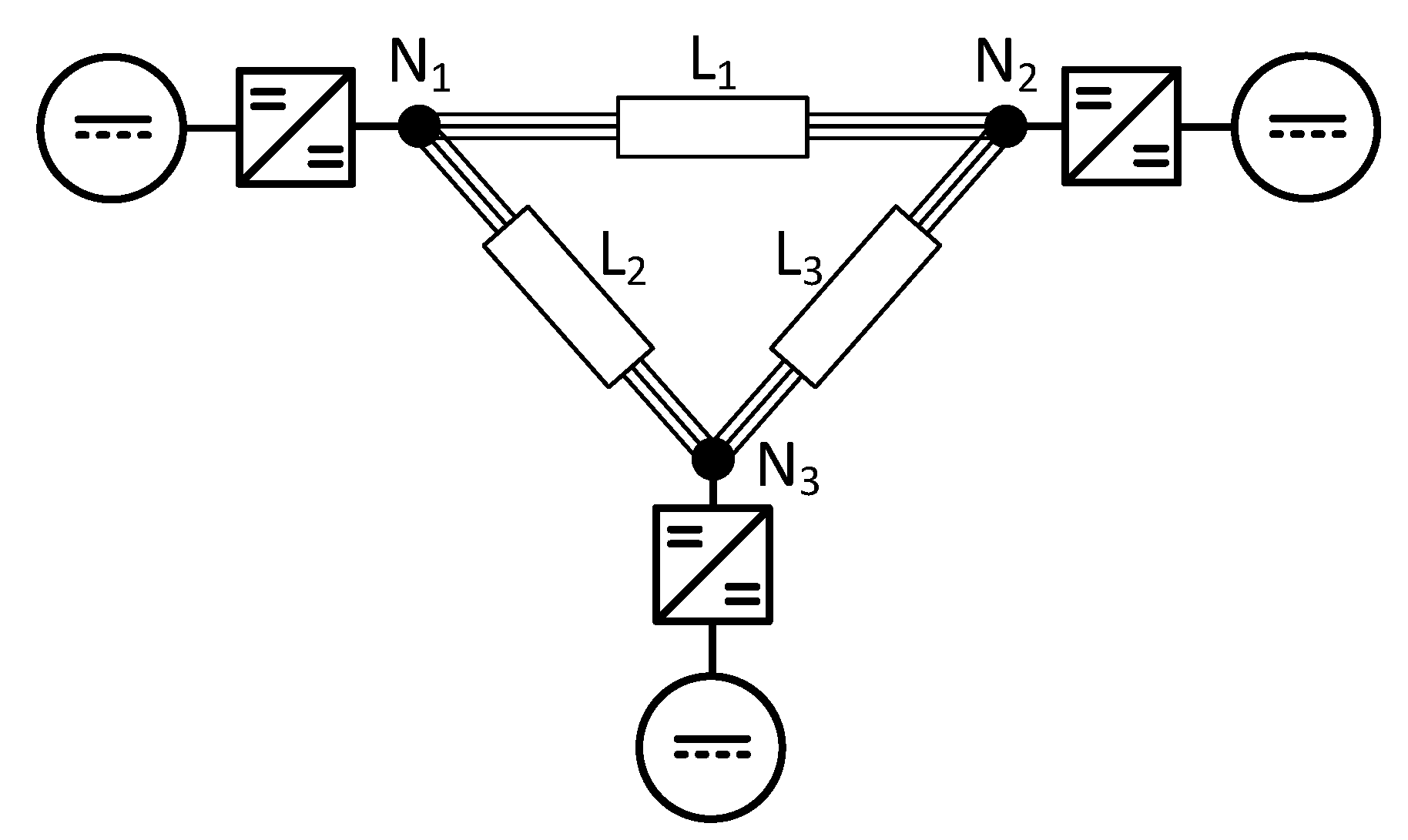 various simulations of a power amplifier