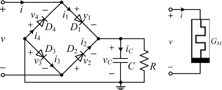 figure 16 rc transient circuit