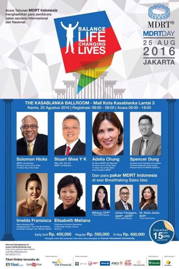 Fler MDRT DAY INDONESIA 2016