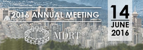 MDRT Annual Meeting 14 Juni 2016