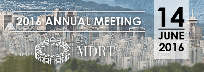 MDRT Annual Meeting 14 Juni 2016