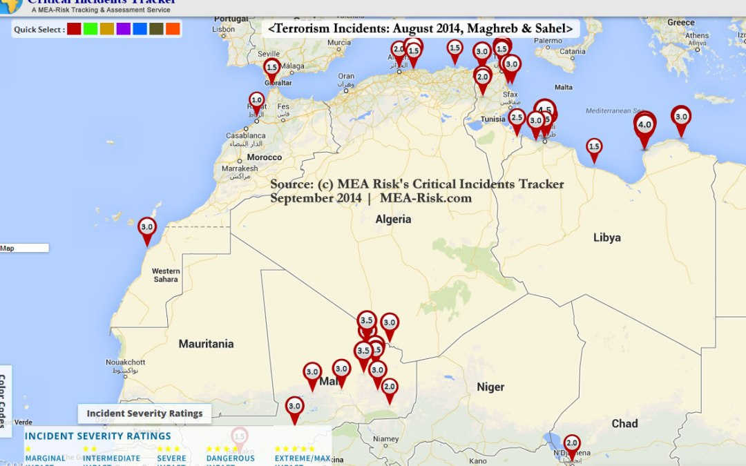 August 2014 | Maghreb-Sahel Cluster of Terror Acts and Anti-Terror Actions