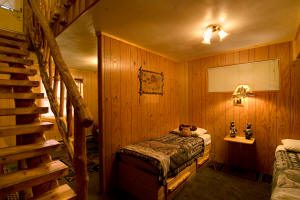 Pine Cone Cabin at Meadowbrook Resort & DellsPackages.com in Wisconsin Dells