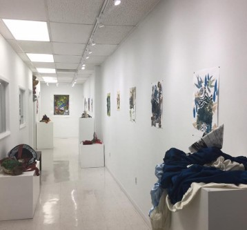 """""""Scratching the Surface""""  Solo Show view 2"""