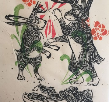 Jackalope Fight (Down and out)