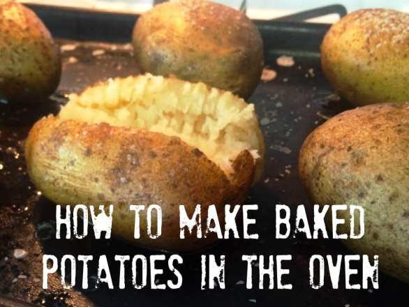 how to cook a potato in the microwave then oven