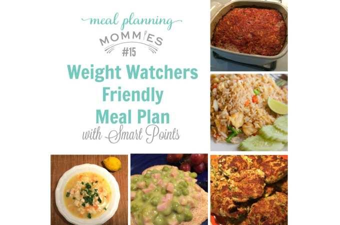 ww meal plan #15