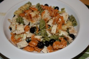 Chicken and Blueberry Pasta salad