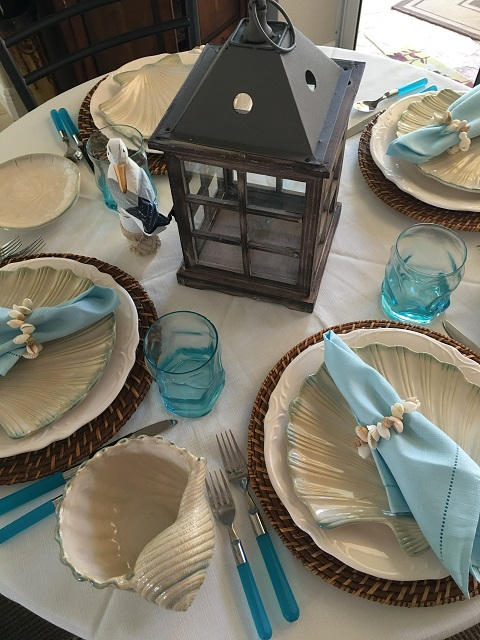 tablescape nautical