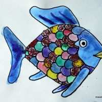Day #139 Generosity through Rainbow Fish, Character Development #20