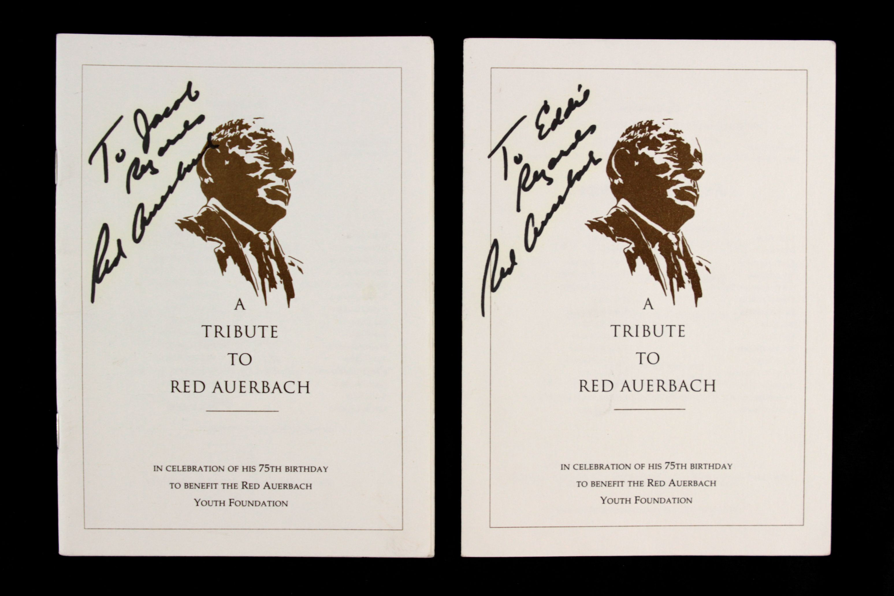 Lot Detail 1992 Red Auerbach Boston Celtics Signed