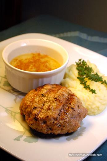 MeatIsNotASideDish Ground Pork Patties Recipe