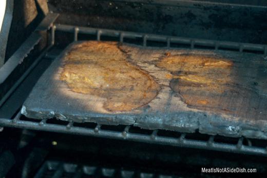 MeatIsNotASideDish Cedar Plank Chicken