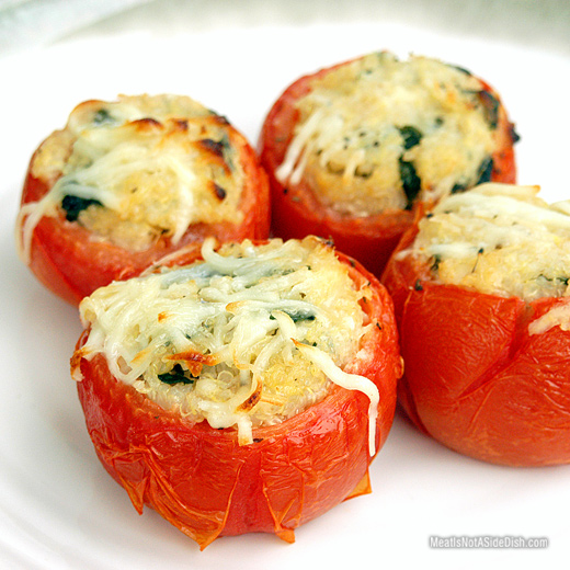 Tomatoes Stuffed with Quinoa