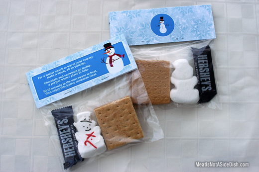MeatIsNotASideDish S'mores Holiday Treat with FREE Template
