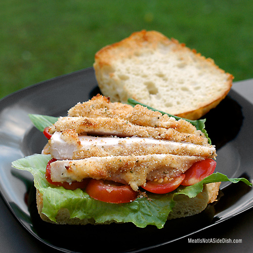 Parmesan Chicken Sandwich Recipe
