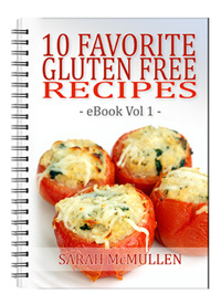 10 Favorite Gluten Free Recipes eBook Vol 1