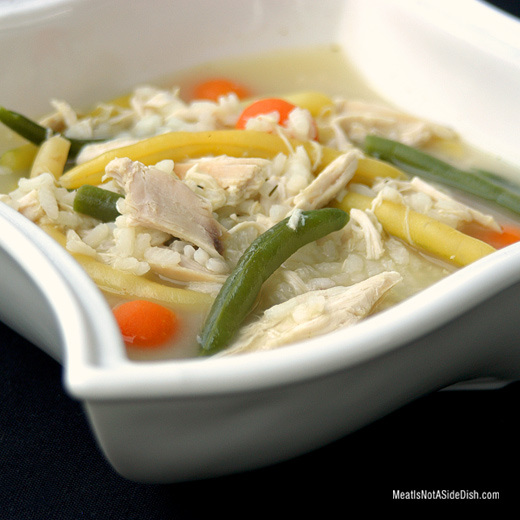 Chicken and Rice Soup Recipe - Gluten Free
