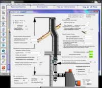 diameter pipe smoke flue calculation software