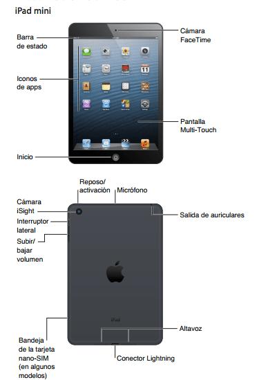 manual de ipad mini espanol