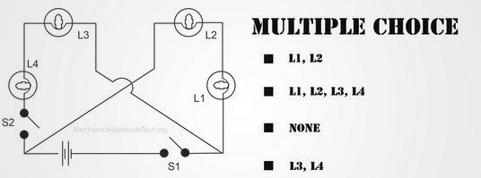 electrical circuits mechanical aptitude test
