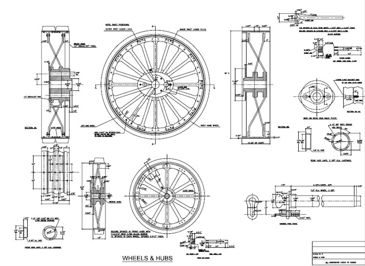 mechanical-drawing-lrg14jpg (748×544) Autocad Designs + Project - action plan in pdf