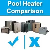 pool heat pump comparison | pool heater comparison | pool heating options | pool heating cost