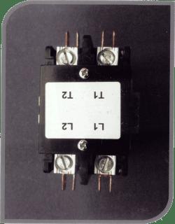 pool heater contactor