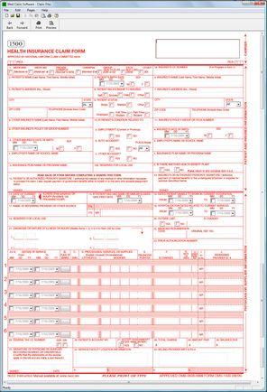 Cms 1500 Form Free Download Peopledavidjoel