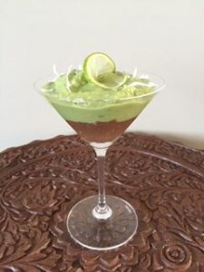 Key Lime + Chocolate Pudding