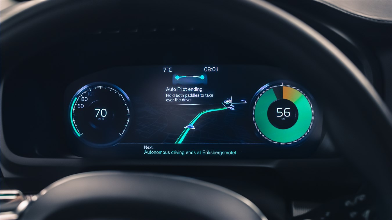 Hd Hybrid Car Wallpaper Volvo Cars Reveals Safe And Seamless User Interface For