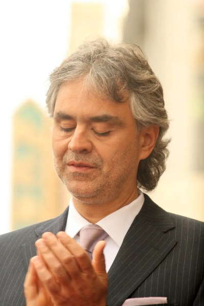 Andrea Bocelli Star on the Hollywood Walk of Fame