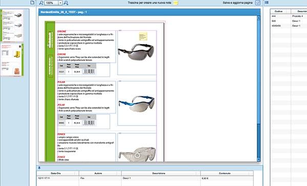modificare da web i testi di un documento di InDesign, correzione di bozze