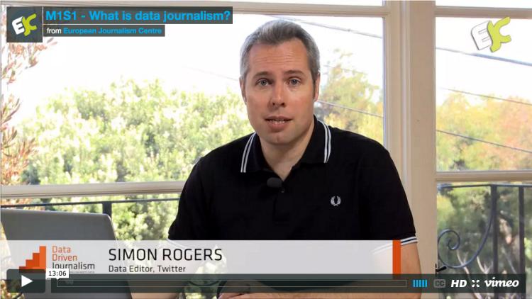 Simon Rogers, l'un des intervenants de Learno.net sur le datajournalisme.