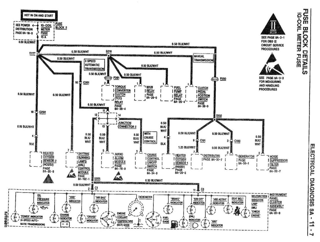 wiring diagram ecu escudo 20
