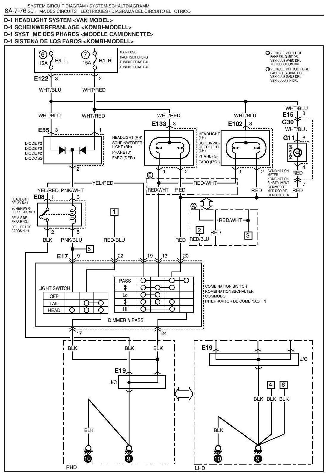 2001 suzuki xl 7 fuse box diagram