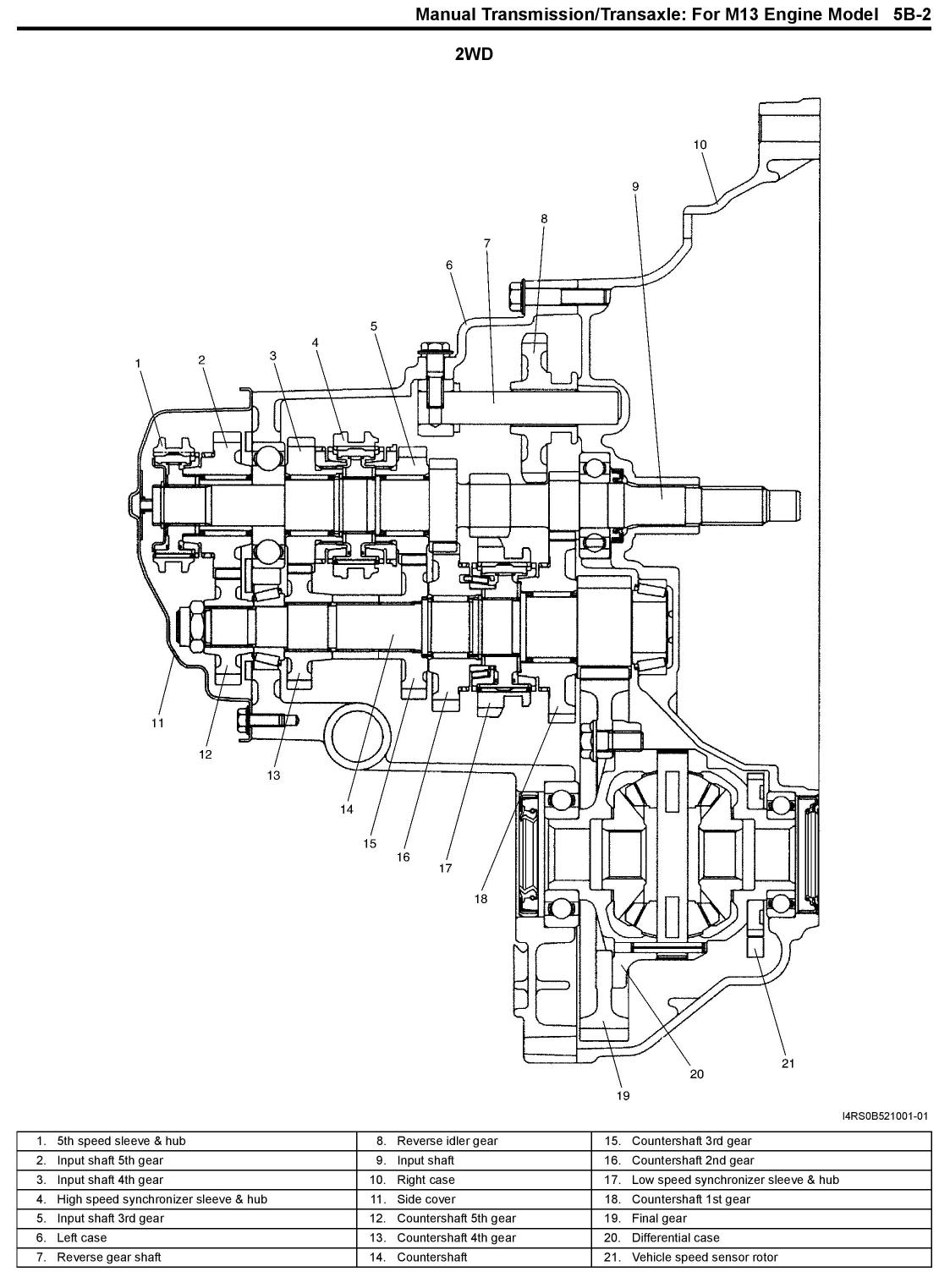 subaru justy alternator wiring diagram