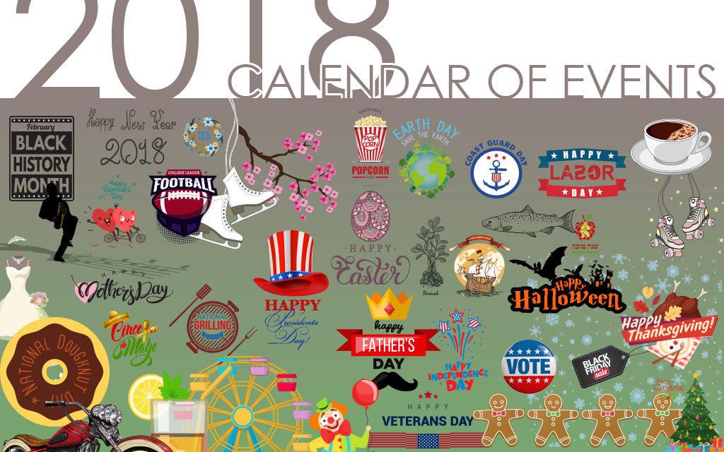 2018 CALENDAR OF EVENTS - Media Group Online