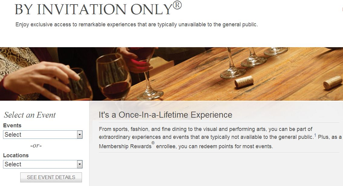 By Invitation Only Events American Express Invitationsweddorg