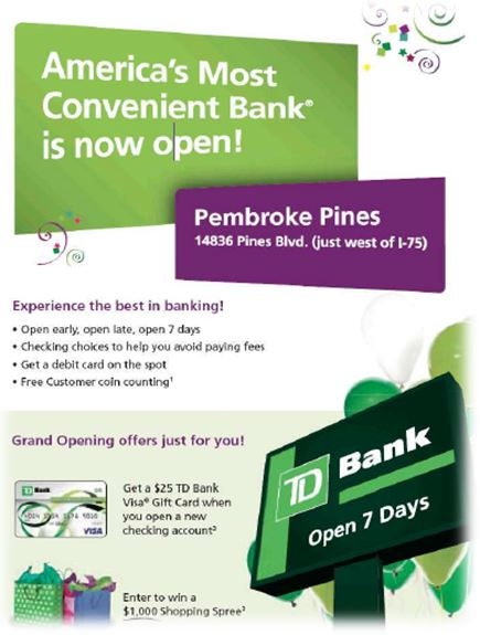 Common Tactics Used in Marketing New Bank Branches