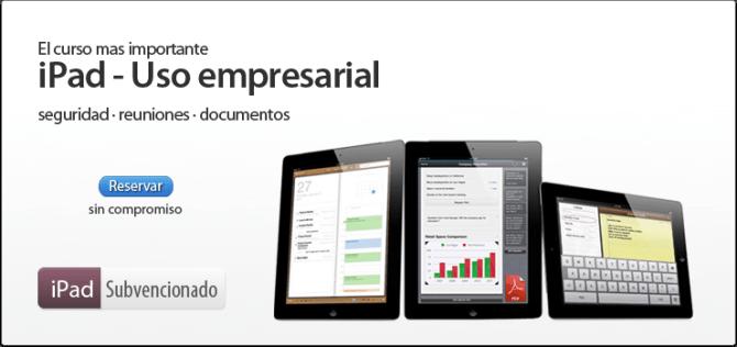 iPad kursus i Spanien