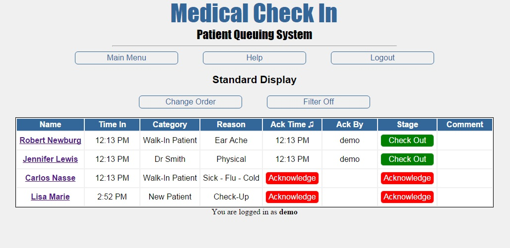 Medical Check In A Better Sign In Sheet
