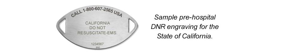 Pre-Hospital DNR Engravings MedicAlert Foundation - dnr medical form