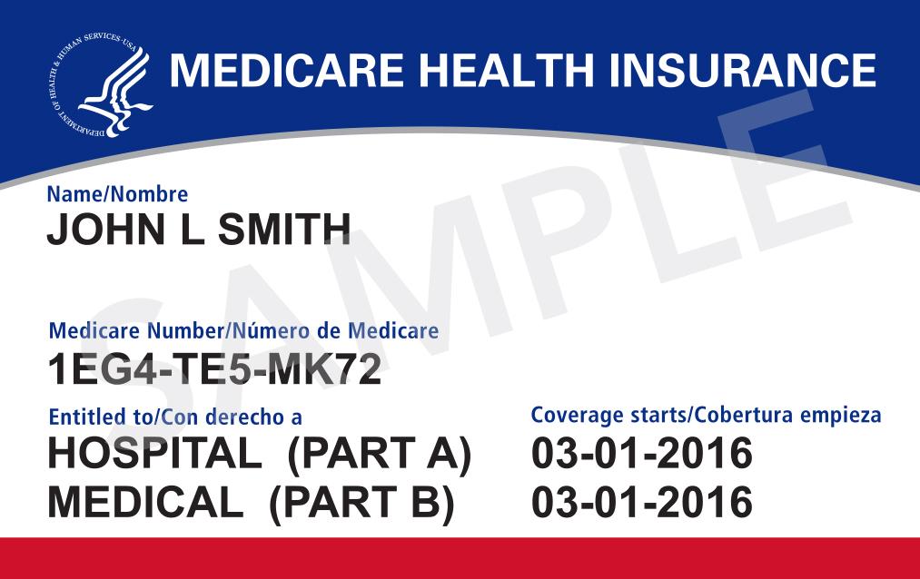 Your Medicare card Medicare
