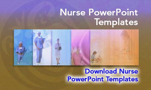 Nurse Medicine PowerPoint Templates - nursing powerpoint template