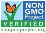 Non-GMO project logo.