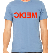 Mirror Medic shirt Steel Blue