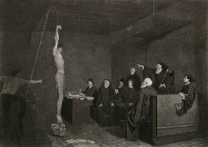 buxom women being hanged